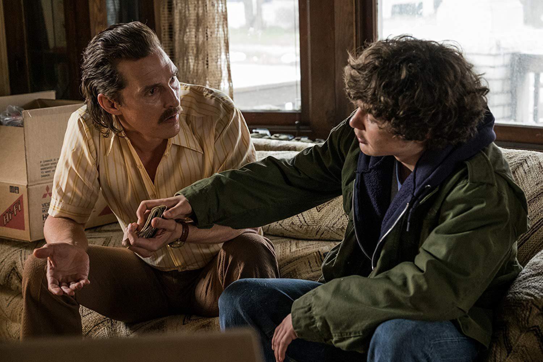 """Matthew McConaughey i Richie Merritt w filmie """"Kokainowy Rick"""""""