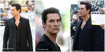 """Matthew McConaughey na planie filmu """"Mroczna wieża"""""""