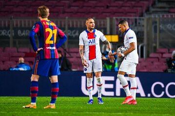 Mecz PSG-Barcelona (zdj. ilustracyjne)