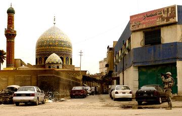 Meczet w Bagdadzie, zdjęcie ilustracyjne