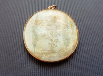 Medalion należący do księżniczki Czartoryskiej