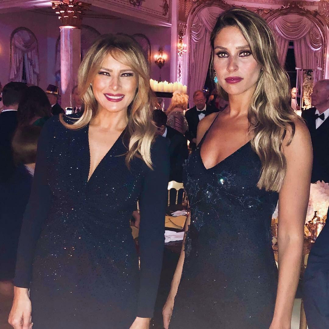 Melania Trump i Amanda Ungaro