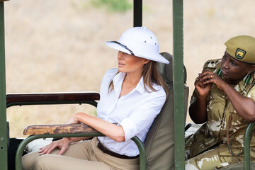 Melania Trump w Nairobi