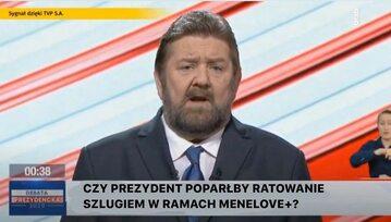 Mem po debacie prezydenckiej w TVP