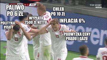 Mem po meczu Albania - Polska