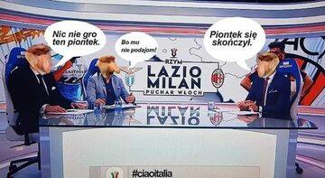 Mem po meczu Milanu z Lazio