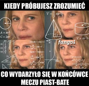 Mem po meczu Piasta Gliwice z BATE Borysów