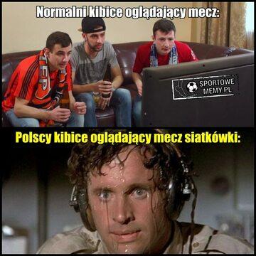 Mem po meczu Polska-Brazylia