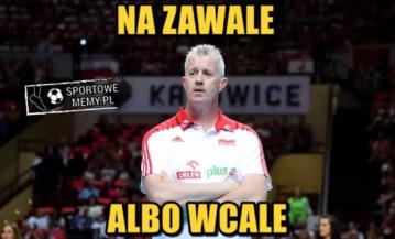 Mem po meczu Polska - USA