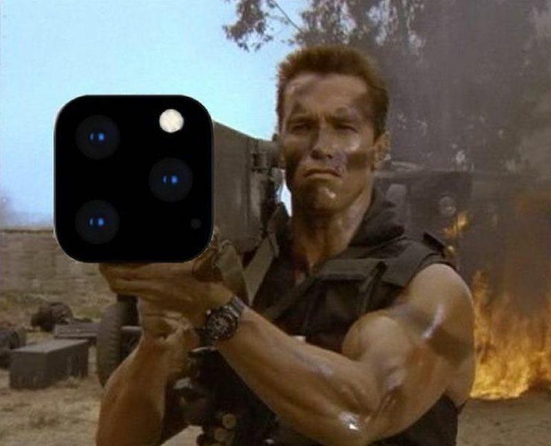 Mem po prezentacji iPhone 11