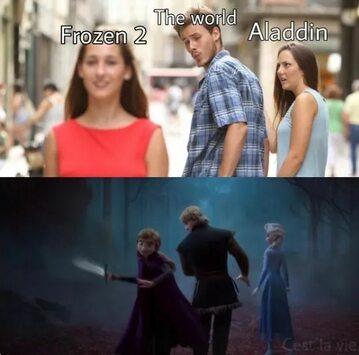 Mem z Frozen 2
