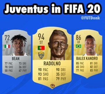 Mem z Juventusem i Fifą 2020