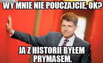 Mem z Ryszardem Petru