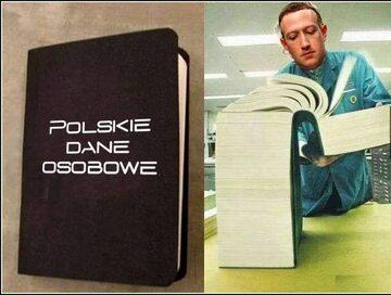 Mem zainspirowany nowym facebookowym łańcuszkiem