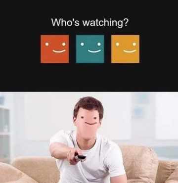 Mem zainspirowany serwisem Netflix
