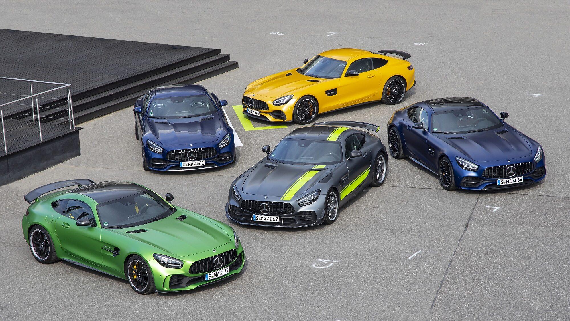 Mercedes-AMG GT i GT R Pro