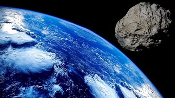 Meteoryt, zdj. ilustracyjne