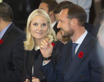 Mette-Marit i książe Haakon