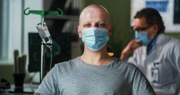 Mężczyzna chorujący na nowotwór – zdjęcie ilustracyjne