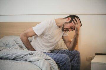 erekcja seksualna zmniejszyła się u mężczyzn