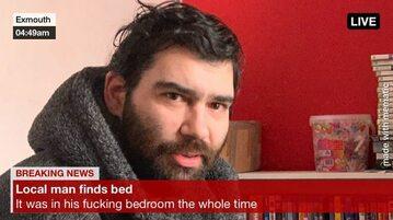 Mężczyzna znalazł łóżko. Cały czas było w jego *** sypialni