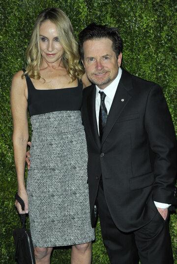 Michael J. Fox i Tracy Pollan