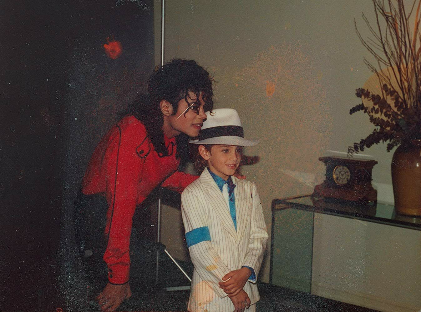 "Michael Jackson i Wade Robson w dokumencie ""Leaving Neverland"""