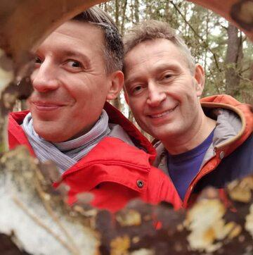 Michał Cessanis i Paweł Rabiej