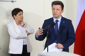 Michał Dworczyk, Beata Szydło