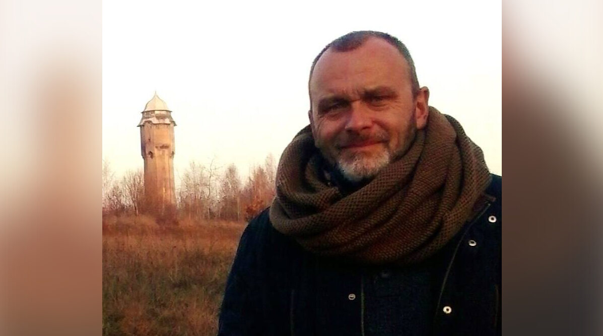 """Michał Jędryka, autor książki """"Ołowiane dzieci"""""""
