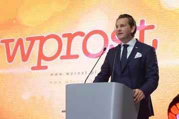 """Michał M. Lisiecki, wydawca """"Wprost"""""""