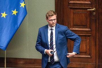 Michał Woś deklaruje poparcie dla Rokity