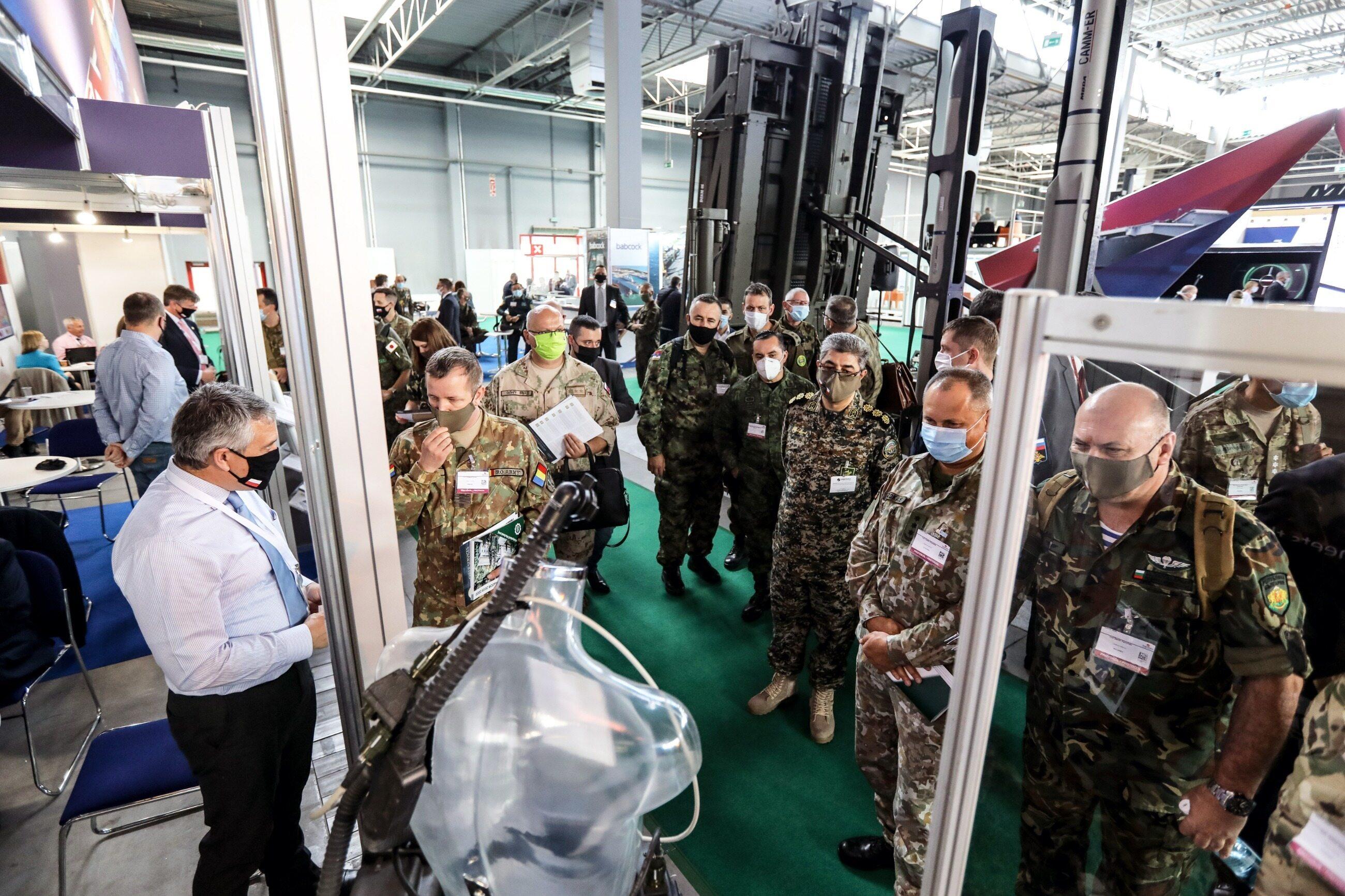 Międzynarodowy Salon Przemysłu Obronnego, Targi Kielce