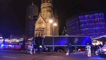 Miejsce ataku w Berlinie
