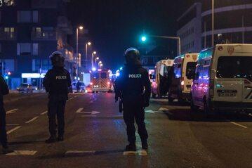 Miejsce strzelaniny w Strasburgu