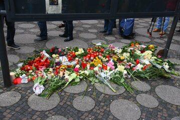Miejsce tragedii w Berlinie