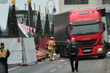 Miejsce zamachu w dzielnicy Charlottenburg