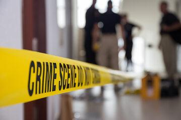 Miejsce zbrodni (fotografia ilustracyjna)