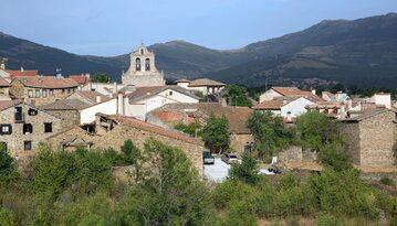 Miejscowość Horcajuelo de la Sierra