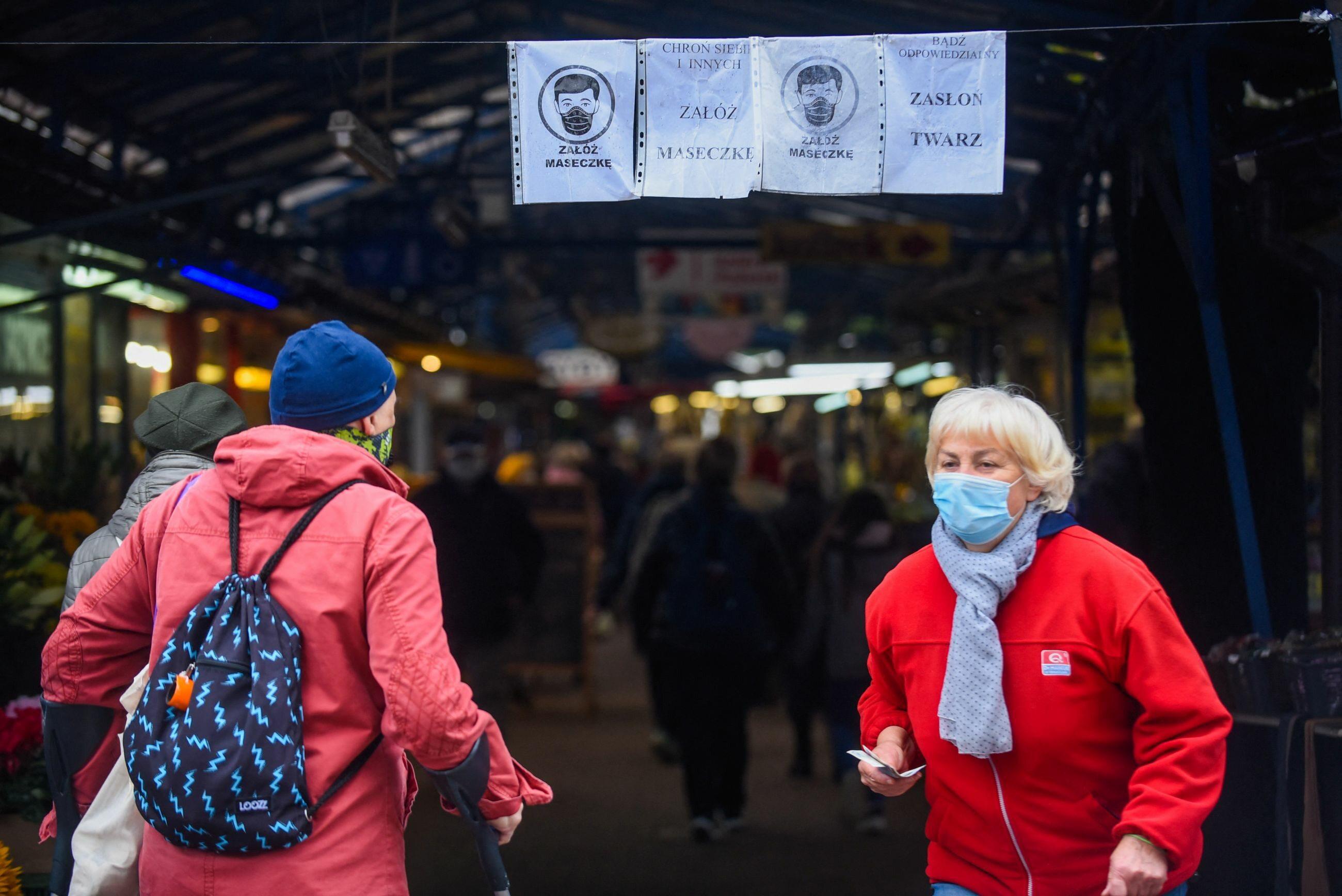 Mieszkańcy Krakowa w czasie pandemii