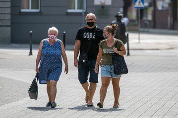 Mieszkańcy Rybnika, który w sierpniu był czerwoną strefą
