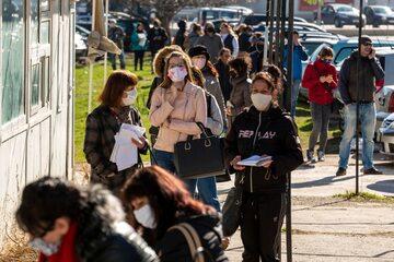 Mieszkańcy Sofii w czasie pandemii