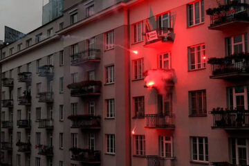 Mieszkanie podpalone podczas Marszu Niepodległości