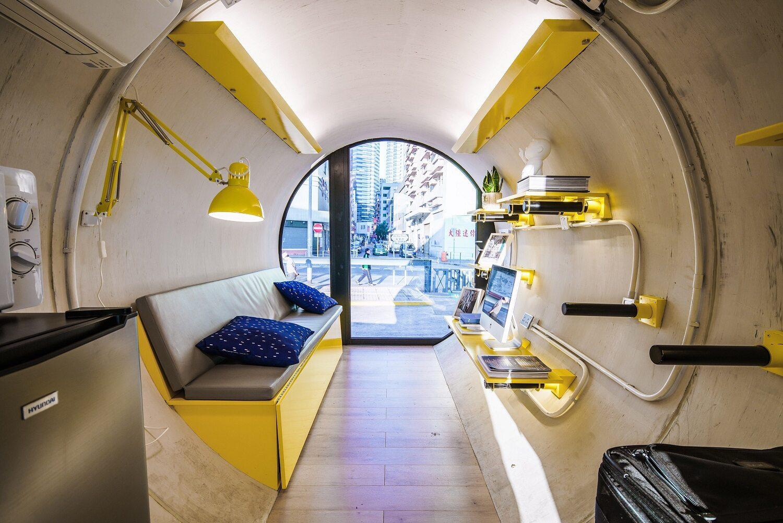 Mieszkanie w tubie - Hongkong