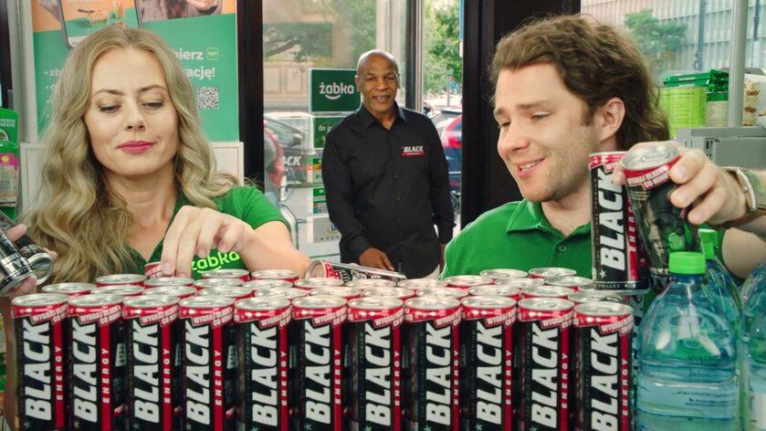 Mike Tyson w reklamie Żabki