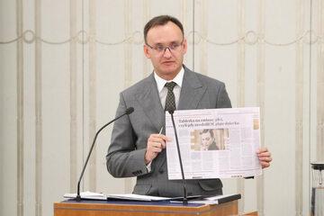 Mikołaj Pawlak w Senacie