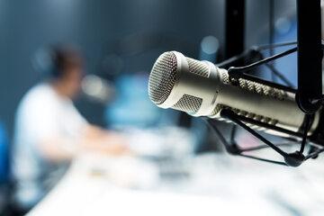 Mikrofon, telewizja, zdjęcie ilustracyjne