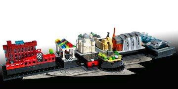 Mini Łódź z klocków LEGO