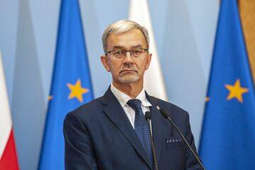 Minister finansów Jerzy Kwieciński