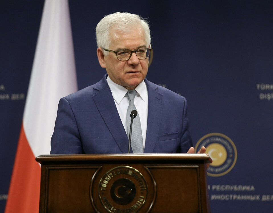 Minister Spraw Zagranicznych Jacek Czaputowicz